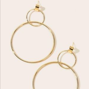 ✨Double Circle Hoops✨